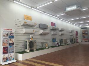Air Conditioning Ferntree Gully Showroom